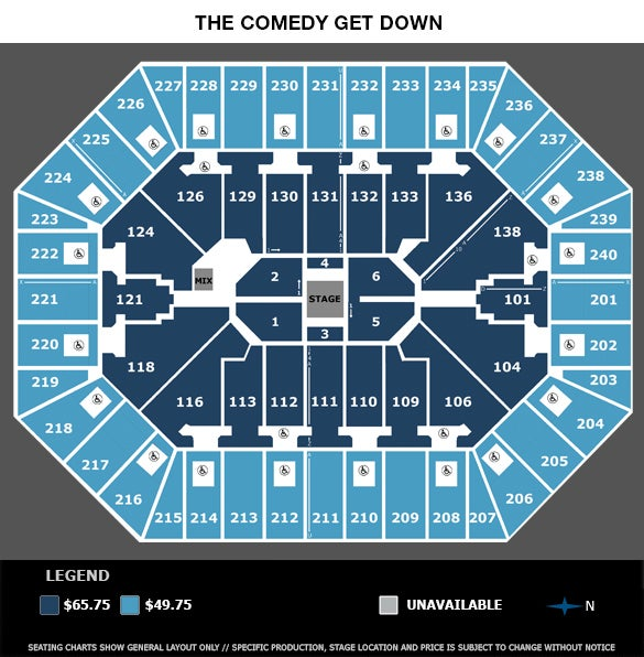 Target Center :: Seating Charts