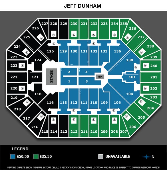 Consol Energy Center Seating Chart For Jeff Dunham