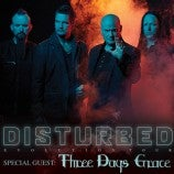 Just announced: Disturbed