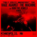 Just Announced: Rage Against the Machine on May 11 at Target Center