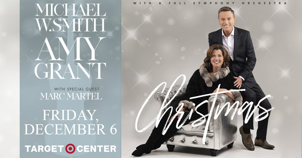 Amy Grant Christmas.Amy Grant Michael W Smith Target Center