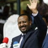Just announced: Prime Minister of Ethiopia Dr. Abiy Ahmed