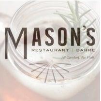 MASON'S RESTAURANT AND BARRE