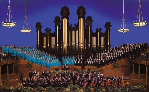 Mormon Tabernacle Choir Spotlight