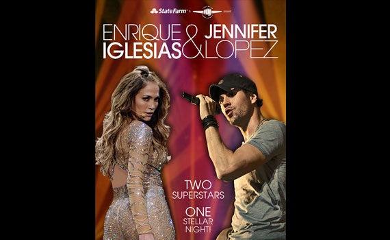 Enrique and Jennifer Lopez Spotlight