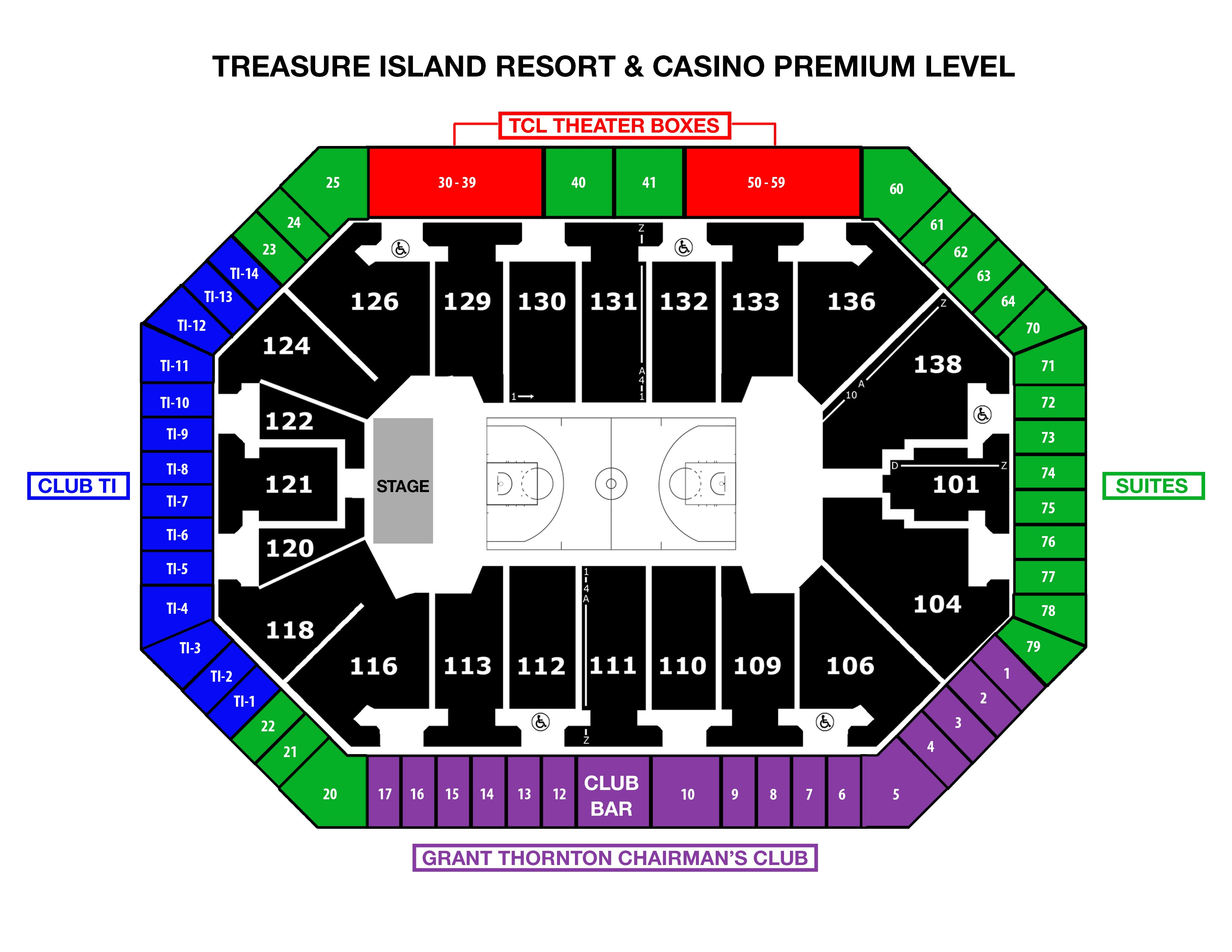 Seating Charts Target Center