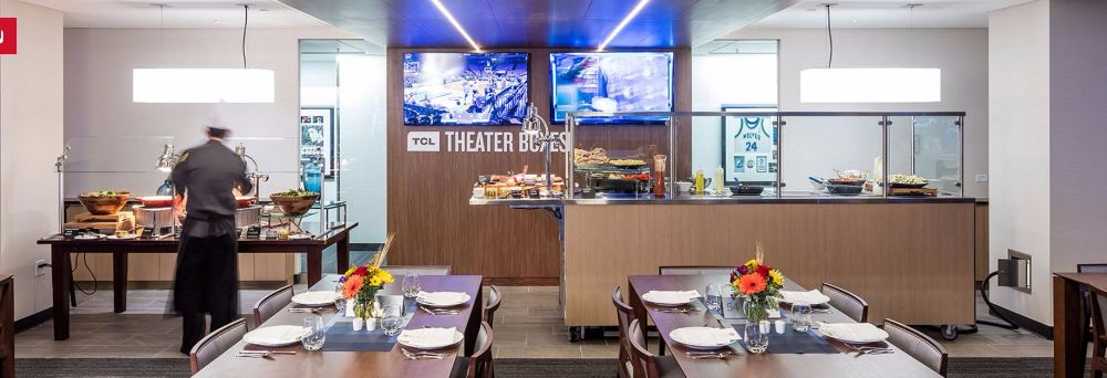 TCL Theater Boxes | Target Center